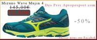 Chaussures De Course Running Mizuno Wave Mujin...V4 Femme  J1GK1770 44