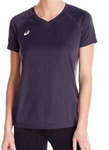 NWT Woman ASICS Circuit 8 Warm-Up V-neck T-Shirt