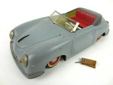 Vintage 1950s Germany DISTLER Porsche 356 ELECTRO MATIC 7500 Tin Toy Battery Car