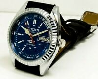 Citizen genuine automatic men's steel vintage japan watch run order free ship