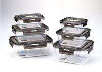 BBLOCK 3PCS Food Container Set Storage Lunch box Holder Kitchen I_g