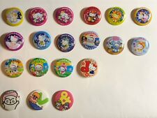 7/11 Hello Kitty Hong Kong Pins Collectables Zodiac Signs seven eleven Sanrio