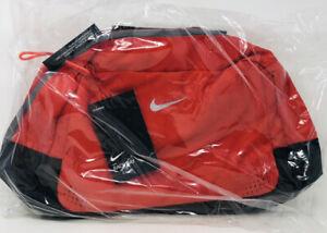 New Nike Run Race Day 21L Running Duffle Duffel Bag Reflective Chili Red #33