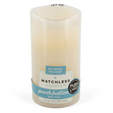 Matchless Candle Co LED Wax Vanilla Scented Flameless Votive Push Button Timer
