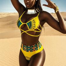 Hot, deux-pièces African Print Bikini... 2 T... XL... 12-14