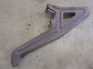1957 Oldsmobile 88 98 exterior front grille hood latch support mount bracket