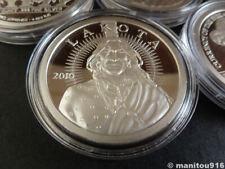 More details for 2010 lakota crazy horse .999 1oz fine silver coin
