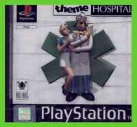 THEME HOSPITAL NUOVO ps1 SIGILLATO playstation play 1 NEW SEALED pal