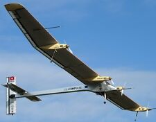Solar Impulse Airplane Desktop Kiln Dry Wood Model Replica Small Free Shipping