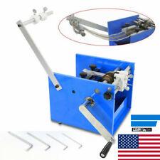 U Type Resistor Axial Lead Bend Cutting + Form Machine Steel Manual 60000pcs/H