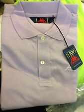 KAPPA POLO SHIRT IN  PURPLE IN SMALL 34/36 INCH AT £8 BNWL
