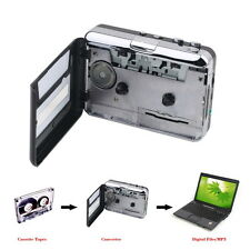 Retro Personal Cassette to MP3 Player Recorder Walkman AM/FM Audio Tapedecks New