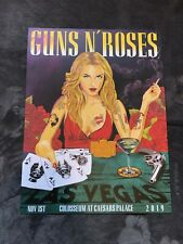 Rare Guns N Roses Lithograph Not In This Lifetime Las Vegas 11/1/19 AP