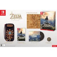 Nintendo Switch Legend of Zelda: Breath of the Wild - Special Edition - OBN READ