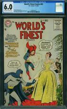 World's Finest Comics #85 CGC 6.0 -- 1956 -- Super Rivals Batman #2009819017