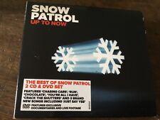SNOW PATROL - UP TO NOW - 2 X CD SET PLUS A DVD TOO - CHASING CARS / RUN