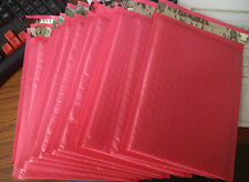 "50pcs Pink 6.5""X9"" Poly bubble Mailer envelopes padded Mailing Bag Self Sealing"
