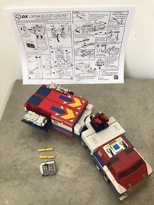 ROBOT BIOMAN 2 MASKMAN BIOGALAXY DX LOOSE BON ÉTAT BANDAI 1987 + ACCESSOIRES !