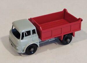 3-B4 EXC/Near MINT! Bedford RED Tipper Truck '61 Lesney Matchbox