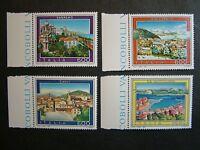 1991  Italia Serie Turistica  4v. Singoli 600 lire  MNh**
