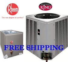 3 Ton R-410A 14SEER NEW WeatherKing by Rheem Condensing Unit & Evaporator Coil