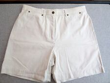 Jones New York Shorts Light Khaki  Cotton Size 16  NWOT   #T19