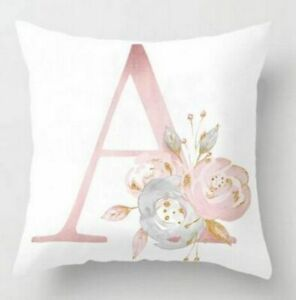 Pillow Cushion Sofa Polyester Pillowcase 45x45cm Letter Room Home Decoration