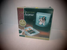 Sarah Peytom Home - Set of 4 Solid Glass Coasters with Wood Holder
