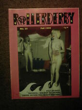 ROLLERDERBY #25 punk fanzine- Lisa Carver *SUCKDOG Tour Diary *Holly Golightly