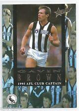 1995 Select Club Captain (CC4) Gavin BROWN Collingwood +++