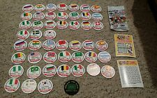 Full set Official world cup usa 94 trading caps/pogs with slammer new VERY RARE