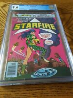 Starfire #1 CGC 9.6 1976 NM Near Mint