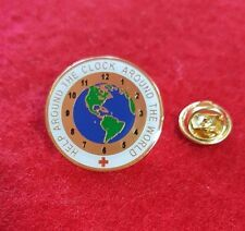 """2005, """"Help Around the Clock"""" pin by Impact Designs for the American Red Cross"""