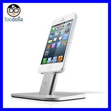 TWELVE SOUTH HiRise metal Desktop Stand/Dock, iPhone 6/6s, Plus, 7/7 Plus Silver