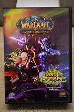 World of Warcraft Trading Card Game DARK PORTAL Starter Deck Case & 120 Cards)