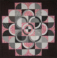 New Pieced Quilt Pattern CIRCLES  52x52
