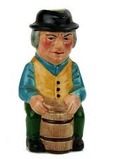 "Vintage Hand Painted Artone Character Toby Jug COOPER 5-1/2"" Tall Black Mark"