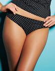 Bas maillot de bain FREYA pier SLIP CLASSIQUE taille S ou 38 noir à pois