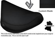 Negro Stitch Personalizado Para Bmw C1 125 200 Delantero Rider Cuero Funda De Asiento