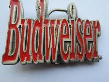 Budweiser belt buckle