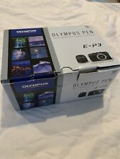 Olympus Pen E-P3 Camera, Lens And Accessories In Original Box