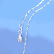 20PCS 18 inch 925 Sterling silver plating Rolo Chain Necklaces Wholesale