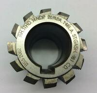 Gear cutting hob 14 NDP 20 pa by David Brown