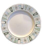 "MidCentury Mod MCM Taylorstone Cathay Dinner Plate 10.5"" Atomic Starburst 1960's"