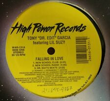 """Falling in Love by Tony Garcia 12"""" Freestyle High Power Records"""