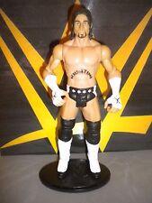 WWE CM Punk W/ Stand - Mattel FlexForce Big Talkin' Figure.