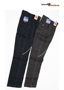 Pantaloni da lavoro Siggi Boston slim-fit elasticizzati multi tasche