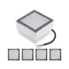 parlat LED Pflasterstein Wegeleuchte CUS 10x10cm 230V warm-weiß, 5 Stk.