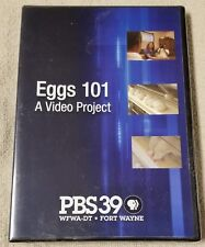 EGGS 101 A Video Project DVD PBS39 WFWA-DT Fort Wayne American Egg Board NEW