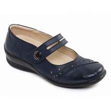 Ladies Padders Shoes Style Sunshine-w Navy UK 6 E/ee
